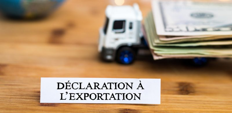 Declaration for exporting